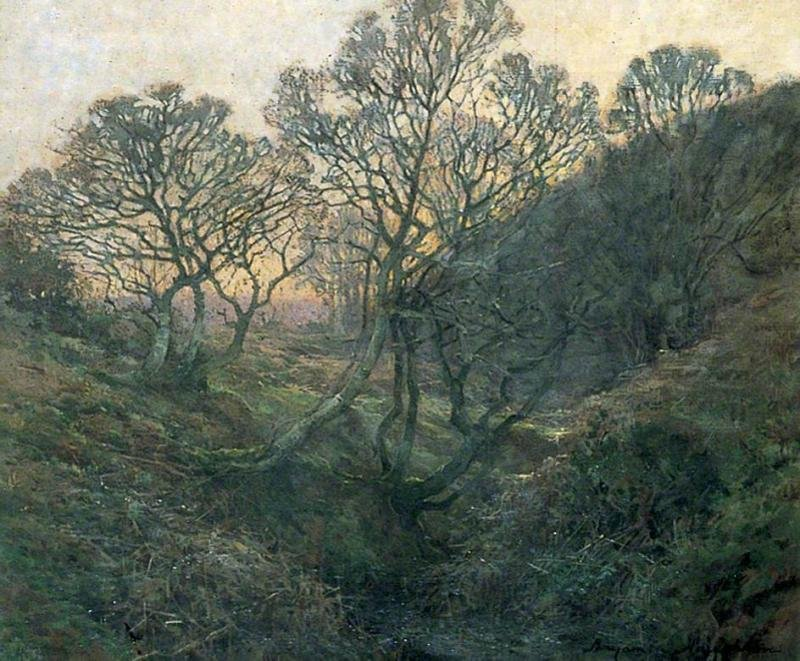 Benjamin Houghton Painting of Quantock Combe